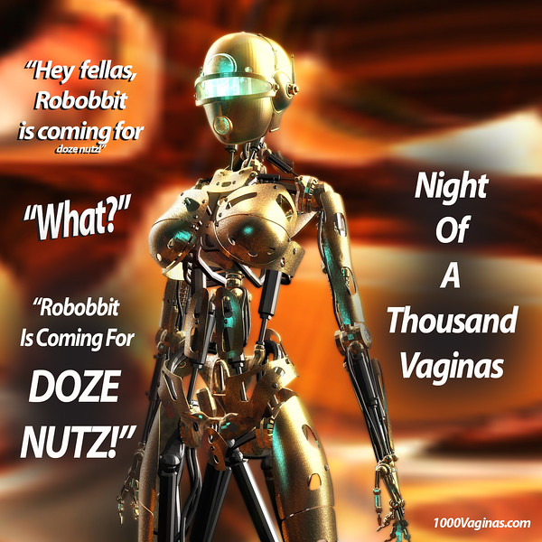 Robobbit Hunting For Doze Nutz