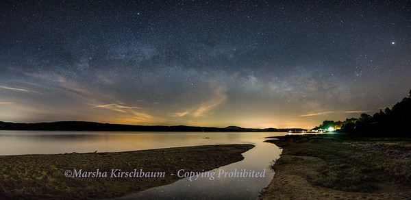 Milky Way Over Tomales Bay
