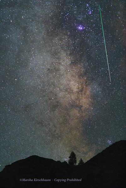 2020 Perseid Meteor - Mono Basin
