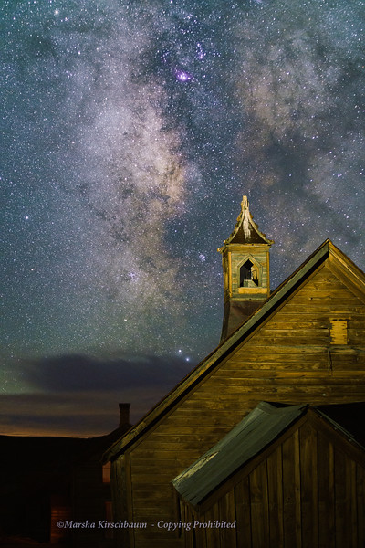 Draped in Stars - Bodie Church