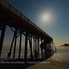 Just Drift Away - Moonlight on San Simeon Pier