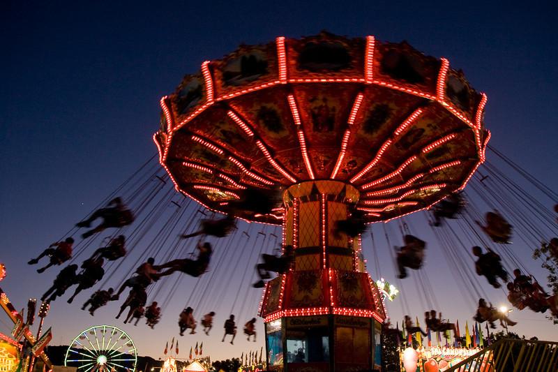 Ride at Alameda County Fair
