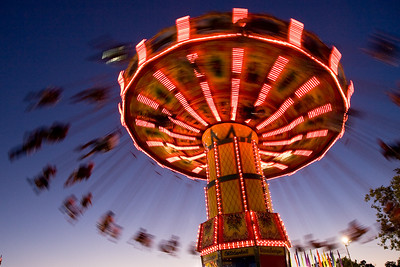 Ride at Alameda County Fair