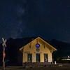 Silverton Depot with Milky Way 09/18/17