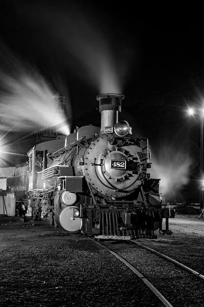 482 at coal dock BW