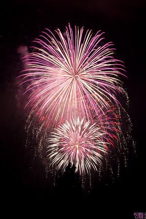 Fireworks - Oswego Harborfest 2010