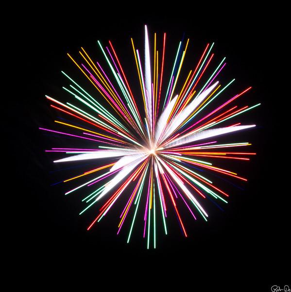 Square Fireworks