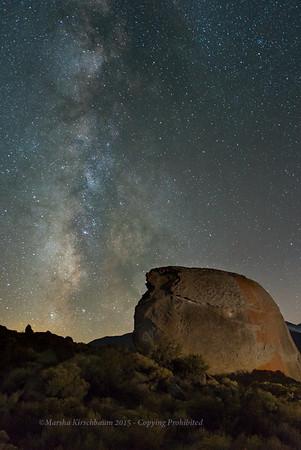 Desert Watch - Milky Way