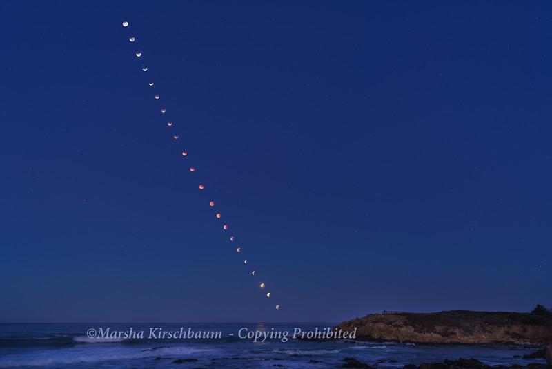 We Stayed Until Dawn - 1-31-18 Lunar Eclipse