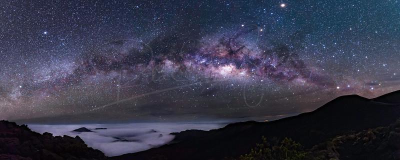 Volcanic Galaxy