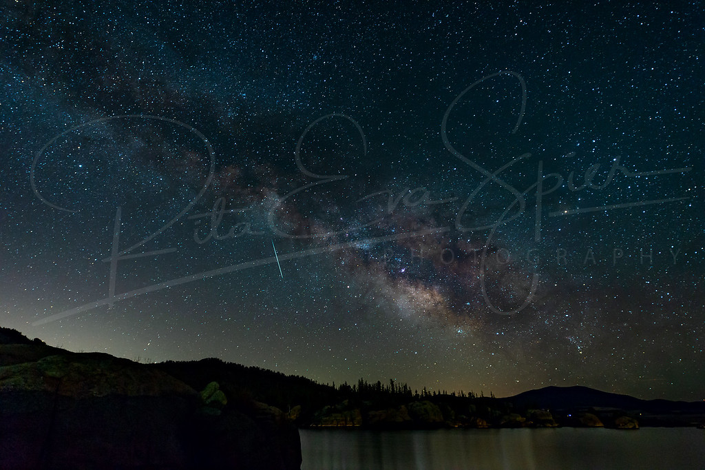 Galaxy over the Reservoir