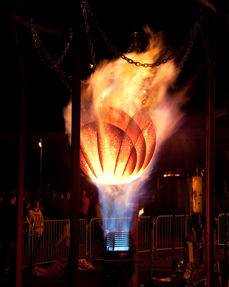 Spontaneous Combustion at the Crucible's Fire Arts Festival, Oakland, July 2009.
