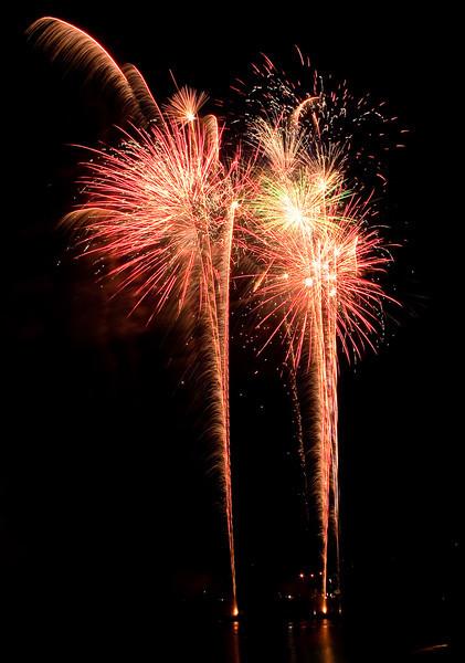 Fireworks at Marin County Fair