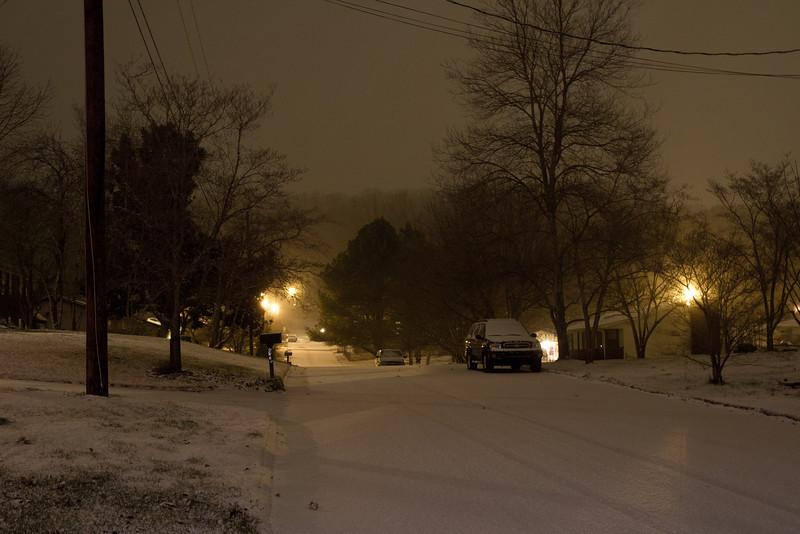 Garwood Circle Snow