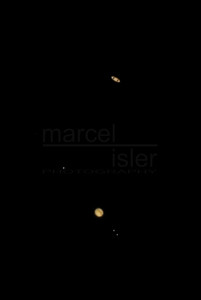 Jupiter and Saturn in Conjunction