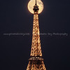 Moonrise and the Eiffel Tower
