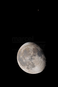 Mars over the Moon