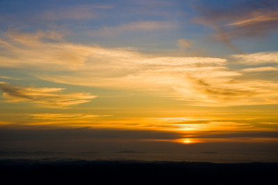 Sunset from Mt. Diablo