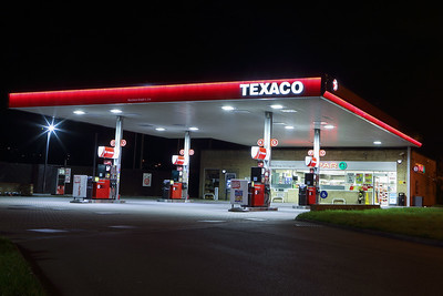 Texaco garage Keighley