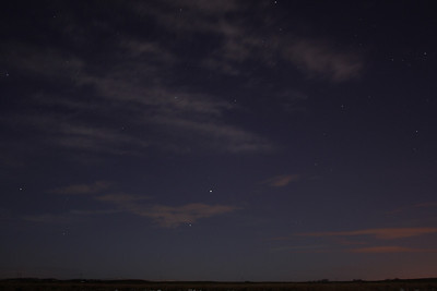 Night shot near Brownside Farm which is between Johnstone and Neilston
