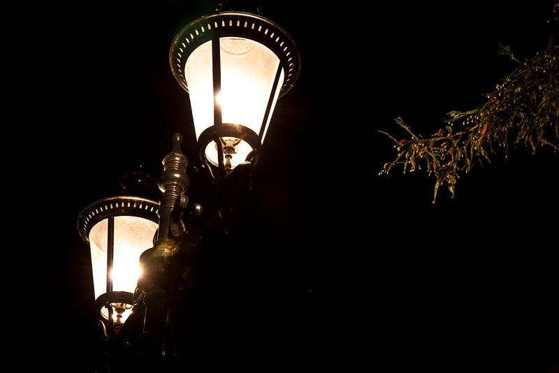 Street lamps in Campbell