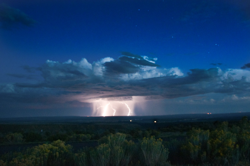 At Mesa Verde National Park I had the chance to watch a storm roll in from New Mexico. 9/1/13