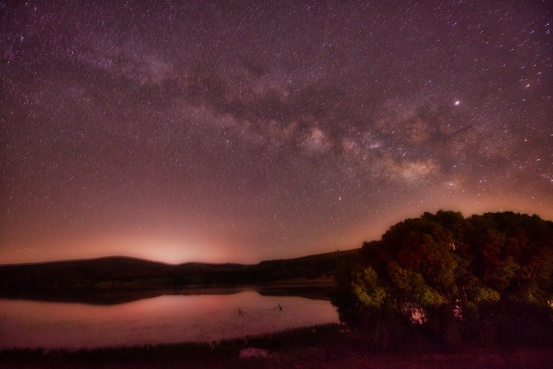 Milky Way over Watson Lake - Prescott, AZ