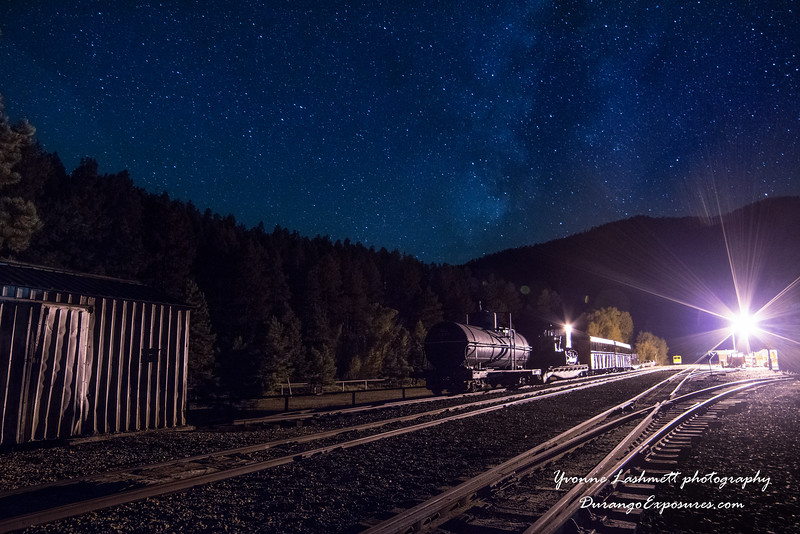 Rockwood, CO under the Milky Way