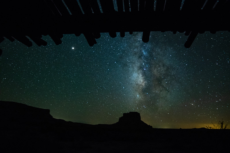 Starry Night Chaco Canyon 4