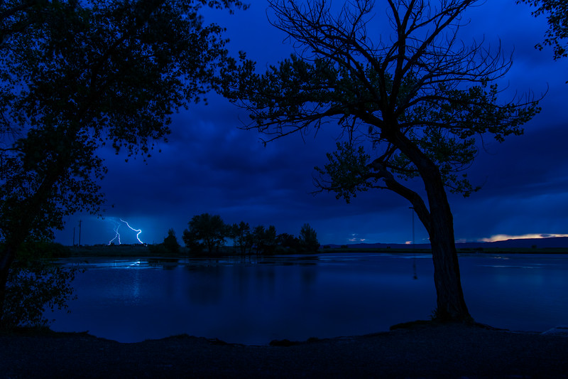 Lightning at Pastorius Lake 091417