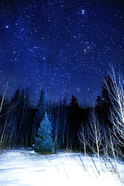 Winter night at 10,000'