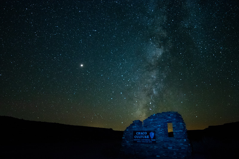 Starry Night Chaco Canyon 1