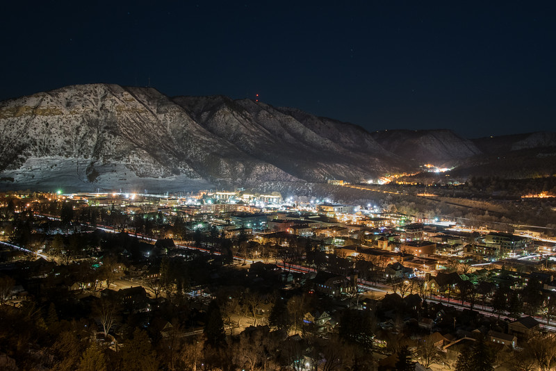 Winter night in Durango