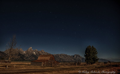 Big Dipper Over Grand Tetons