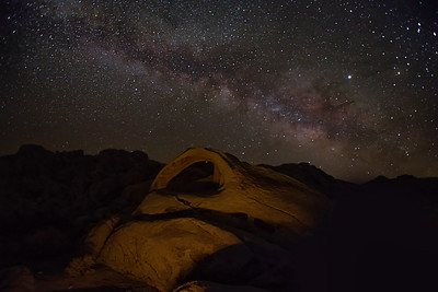 Milky Way Over Arch