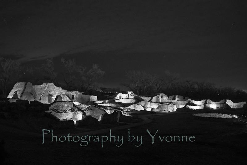 Evening of Lights, Aztec Ruins National Monument. December 11, 2014