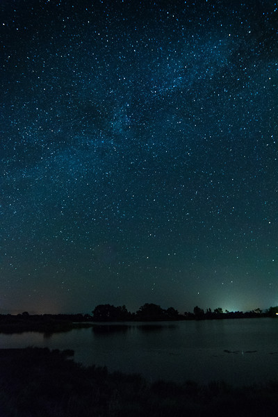 Milky Way above Pastorius Lake June 21, 2017