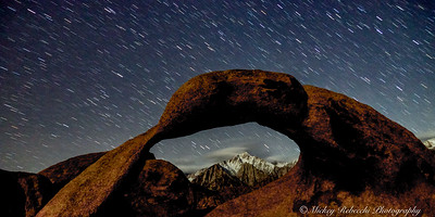 Mobius Arch with Mount Whitney