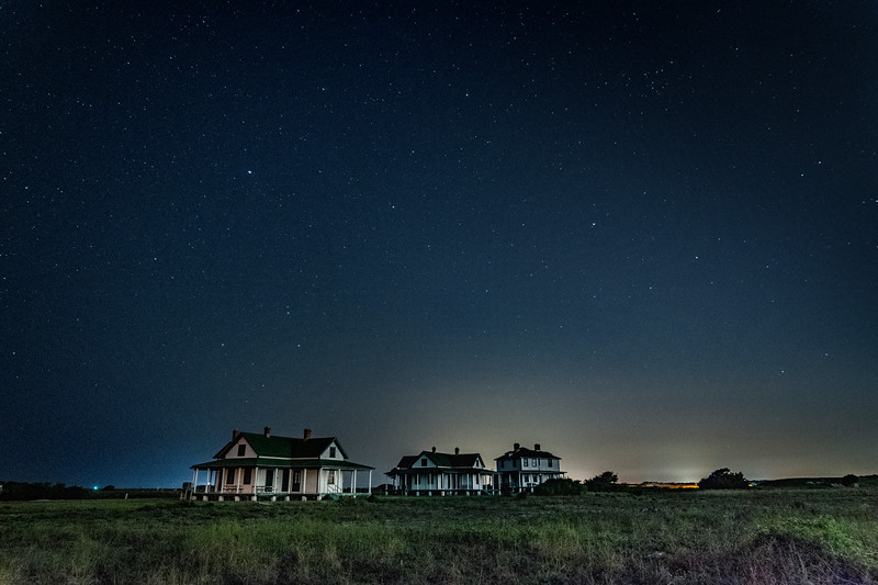 Fort Pickens night view