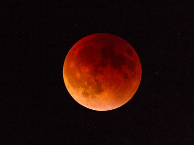 Lunar eclipse, September 2015