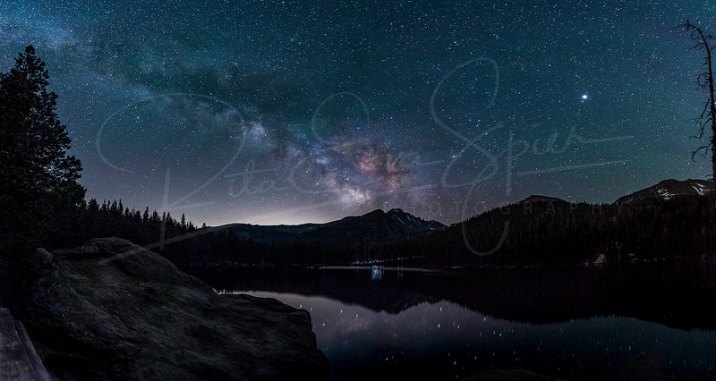 Milky Way at Bear Lake