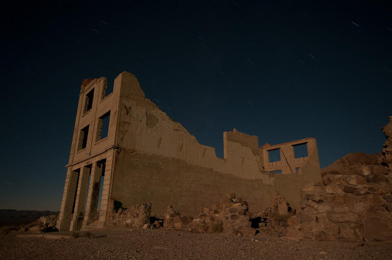 Cook Bank, Rhyolite, NV