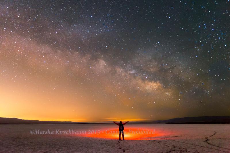 Milky Way Bathing