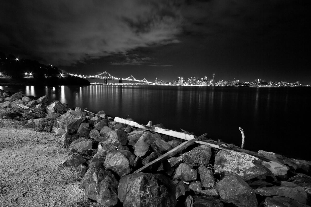Bay Bridge and San Francisco from Treasure Island