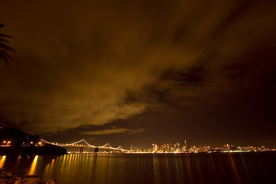 Bay Bridge and San Francisco from Treasure Island