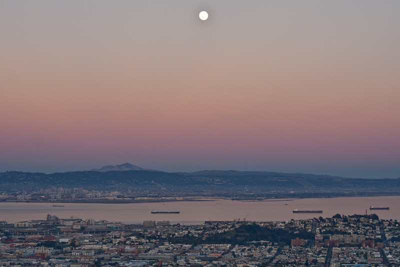Twilight over the San Francisco Bay