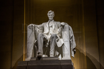 Abraham Lincoln At Night