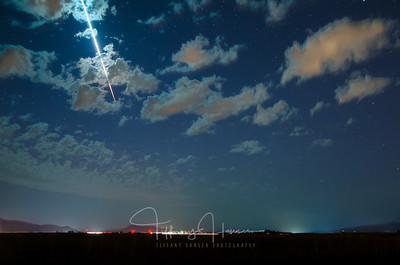 Meteor Over North Idaho