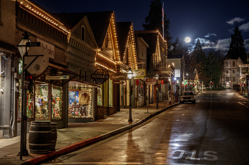 Moonlit Magic in Nevada City 1