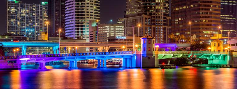 Brorien Street Bridge - Tampa, Fl - Large Panorama